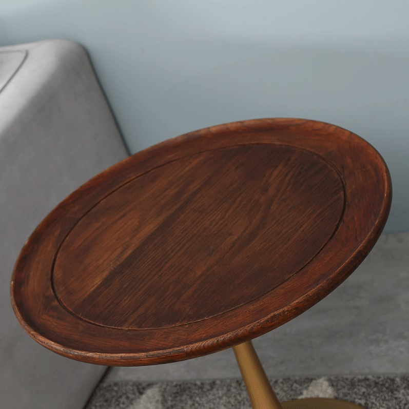 "Wood For Coffee Table Top: 52(20"") High Coffee Table / 55cm(21.6 Inch) Round Solid"