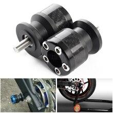 For yamaha MT 03 01 MT03 MT-01 MT-03 MT-09 MT01 MT09 Swingarm Sliders Spools stand screws For Ducati MONSTER 821 2014 2015 2016