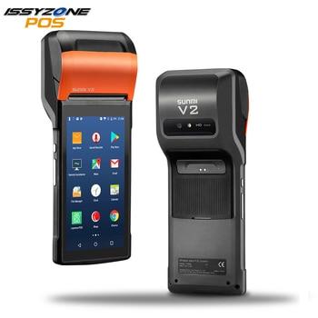 Sunmi V2 PDA Android 7 PDA de POS térmica eSIM 4G WiFi con cámara altavoz  recepción Bill impresora para pedido móvil