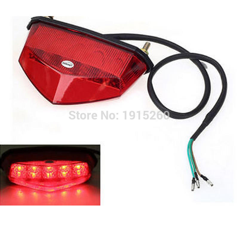 ᗔRpmmotor universal motocicleta dirt bike ATV LED trasero freno ...