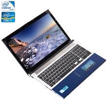 Zeuslap 15.6 inch Intel c or e i7 or Intel Celeron Процессор 8 GB Оперативная память + 500 ГБ HDD Встроенный WI-FI Bluetooth DVD-ROM ноутбук