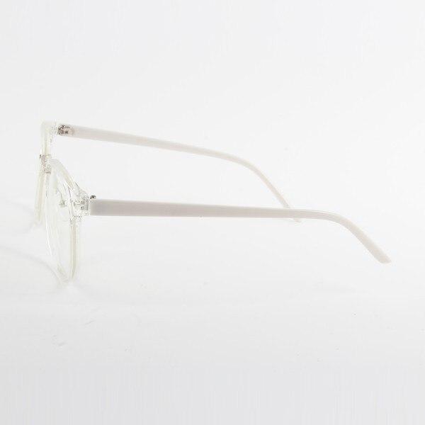 Moda Unisex Marea Gafas ópticas Marco redondo Anteojos Metal Arrow - Accesorios para la ropa - foto 6