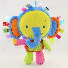 Helen115 Lovely Newborn Baby Cartoon Animal Developmental Toy Bed Bells Kids Baby Soft Toys