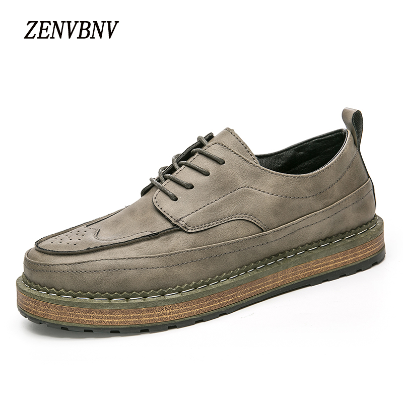 ZENVBNV 2017 Autumn Men's Leather Casual Shoes Suede Moccasins Men Loafers Solid Brand Male Shoes Chaussure Homme zapatos hombre cbjsho brand men shoes 2017 new genuine leather moccasins comfortable men loafers luxury men s flats men casual shoes