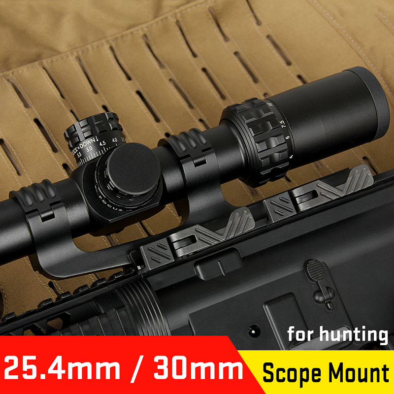 Canis Latrans Hunting sight mounts riflescopes accessories Quick Detach QD 25 4 30MM double ring rifle