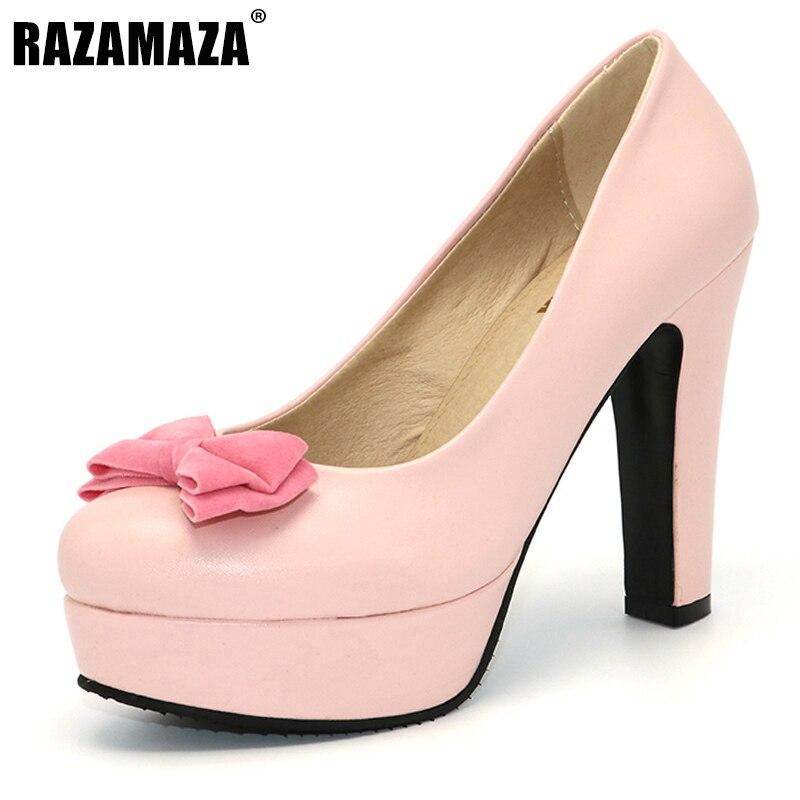 rosado Señoras Sexy Alto K00606 negro 43 Partido De Tamaño Beige Marca 33 Tacón Delgados Mujeres Bombas Plataforma Tacones Boda Zapatos ZUc1Hzz