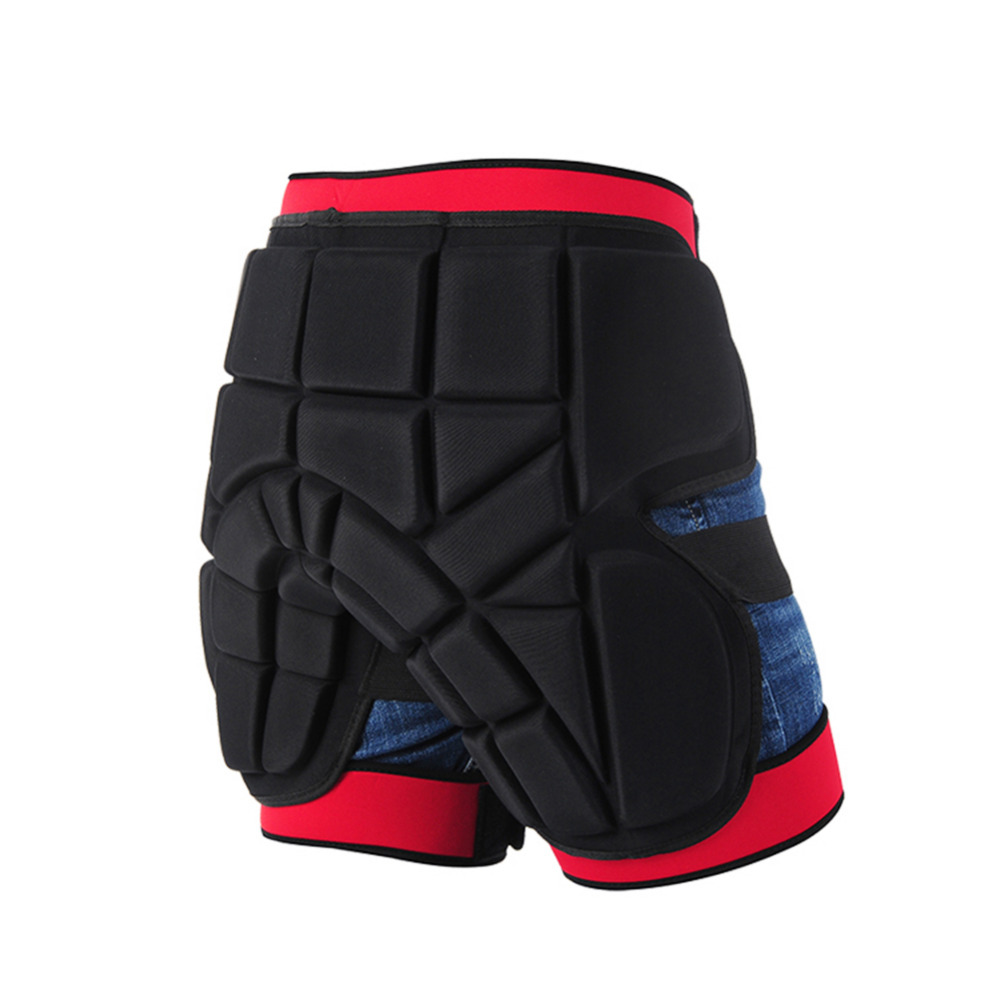 High Quality Outdoor Sport EVA Protective Hip Butt Pad Ski Skate Snowboard Shorts Pan t Pan ts Skiing Snow board Skate Pan t