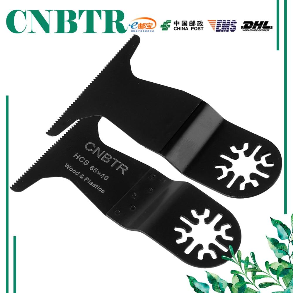 ФОТО 20x CNBTR 32x40mm Quick Release High-Carbon Steel & HSS Oscillating Saw Blade