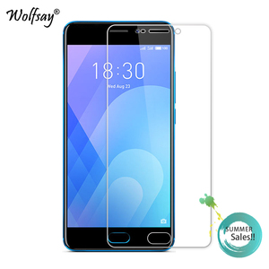 Image 2 - 2PCS Glass For Meizu M6 Screen Protector Tempered Glass For Meizu M6 Glass For Meizu Meilan 6 M711H Protective Film 5.2 inch