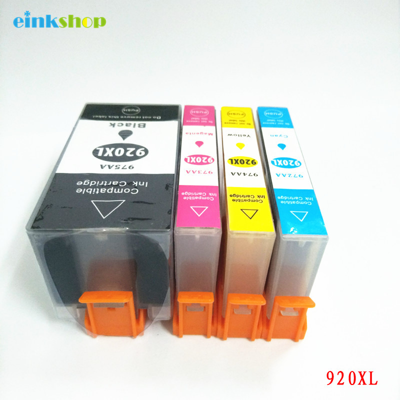 einkshop For hp 920 xl 920XL Compatible Ink Cartridge For hp Officejet 6000 6500 6500 Wireless 6500A 7000 7500 Printer 12 pcs for hp 920 xl 920xl with chip compatible ink cartridge for hp officejet 6000 6500 6500 wireless 6500a 7000 7500 7500