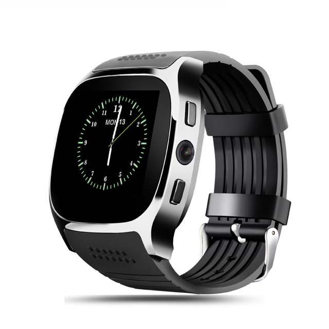 Bluetooth/Camera Smart Watch  with Call Support, SIM Card,  Music Player and Alarm Clock