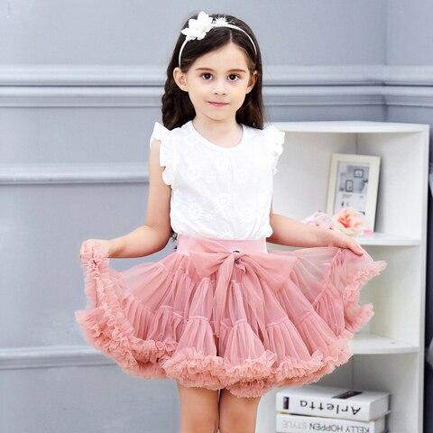 ballet tutu saias moda casual princesa crianca selvagem