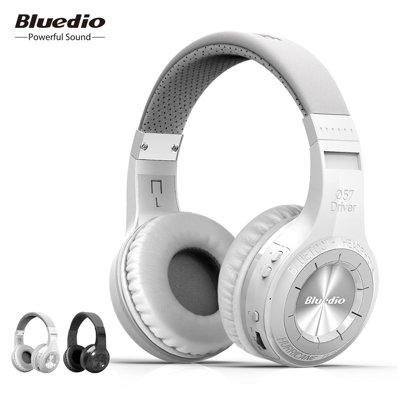 Bluedio HT (disparo de freno) auriculares inalámbricos Bluetooth BT 4,1 versión estéreo auriculares Bluetooth micrófono incorporado para llamadas