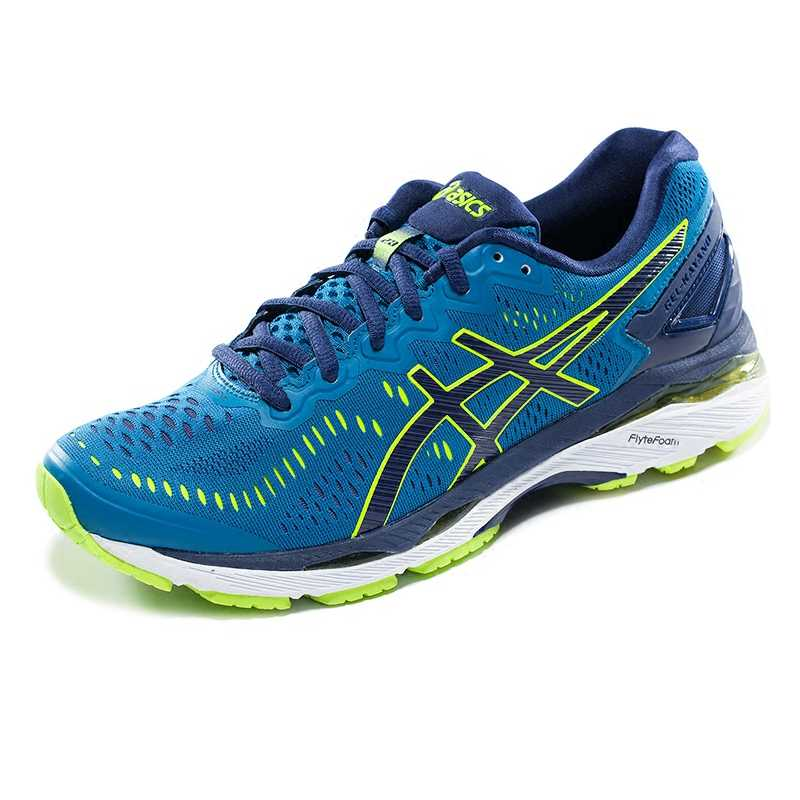 new arrivals 849b2 20cec ASICS GEL-KAYANO 23 Stable Light Running Shoes Half Marathon Men's Shoes  Non-slip Breathable Low Top T646N Original Authentic