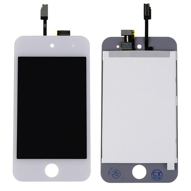 Para apple ipod touch 4 4g lcd screen display touch com digitador assembléia preto