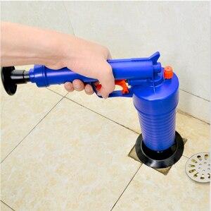 Image 3 - VOZRO 홈 고압 공기 드레인 블래스터 펌프 플런저 싱크 파이프 방해물 화장실 욕실 주방 클리너 키트 Cucina 흡입 컵