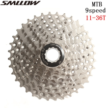 цены на SUNSHINE-SZ MTB Mountain Bike Bicycle Parts 9 s 27 s Speed Freewheel Cassette 11-36T Compatible for parts M370 M430 M4000 M590  в интернет-магазинах