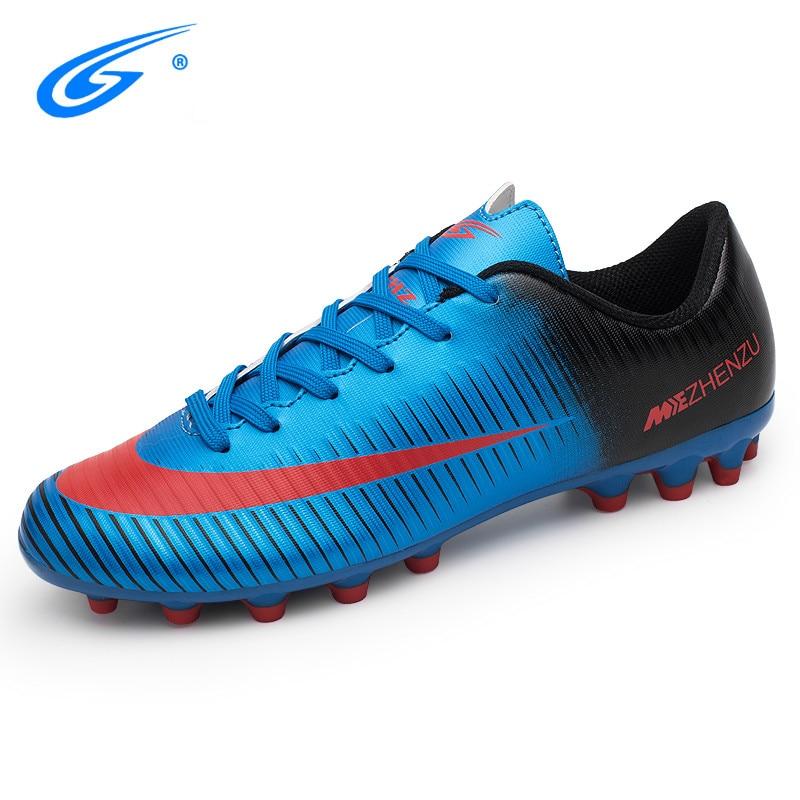 ZHENZU Profesional botas de futbol de Los Hombres zapatillas de futbol Al  Aire Libre Cleats Original Kids Superfly futsal zapatos futbol c796767ed2696