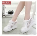 Spring summer new women's shoes wholesale flat Mesh single shoes female leisure shoes white mesh casual shoes