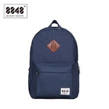 8848 marca mochila de viaje mochila escolar bolsa de 15.6 pulgadas portátil de bolsillo de zapatos mochila masculino 2017 nueva llegada del resorte tipo d020-1