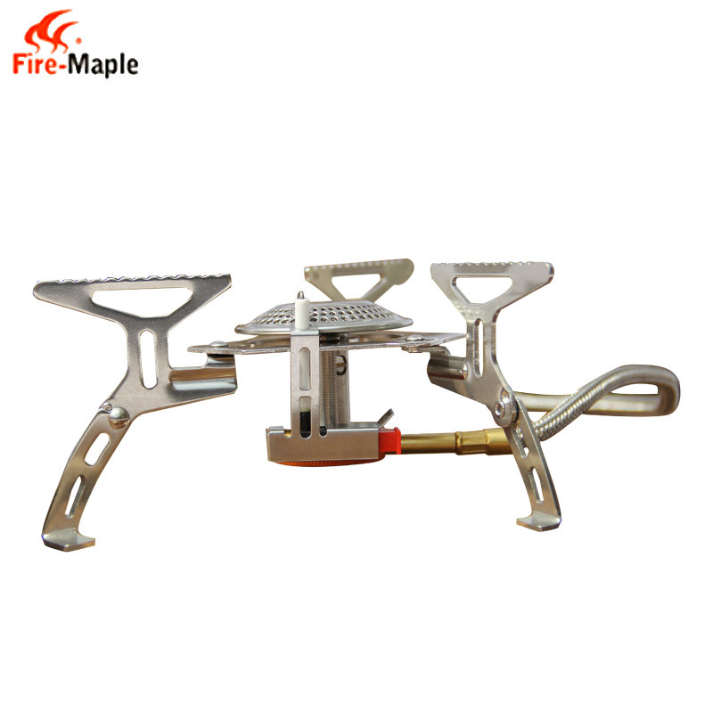 Fire Maple Camping Gas Stove Portable Foldable Split Burn 2600W For Outdoor Water Coffe Tea Meal Cooking Gas Stove FMS-105