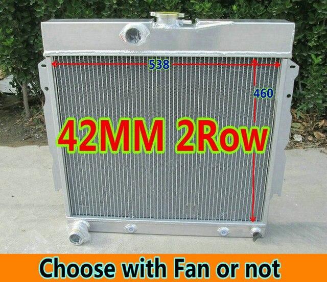 US $140 0  Aluminum Radiator & Fan for 1963 69 Plymouth Dodge  Valiant/Signet/Belvedere/Satellite/Fury Station Wagon/Dart/Charger/Coronet  V8-in Oil