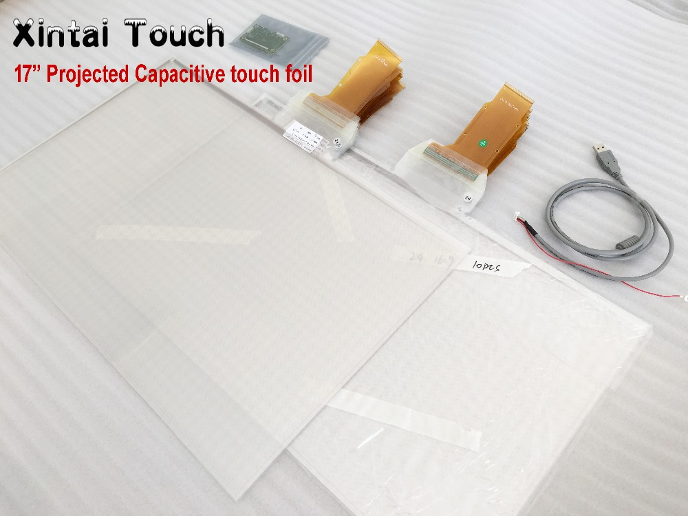 Xintai Touch 17 Inches 5:4 Ratio 10 Touch Points Interactive Capacitive Multi Touch Foil Film Plug & PlayXintai Touch 17 Inches 5:4 Ratio 10 Touch Points Interactive Capacitive Multi Touch Foil Film Plug & Play