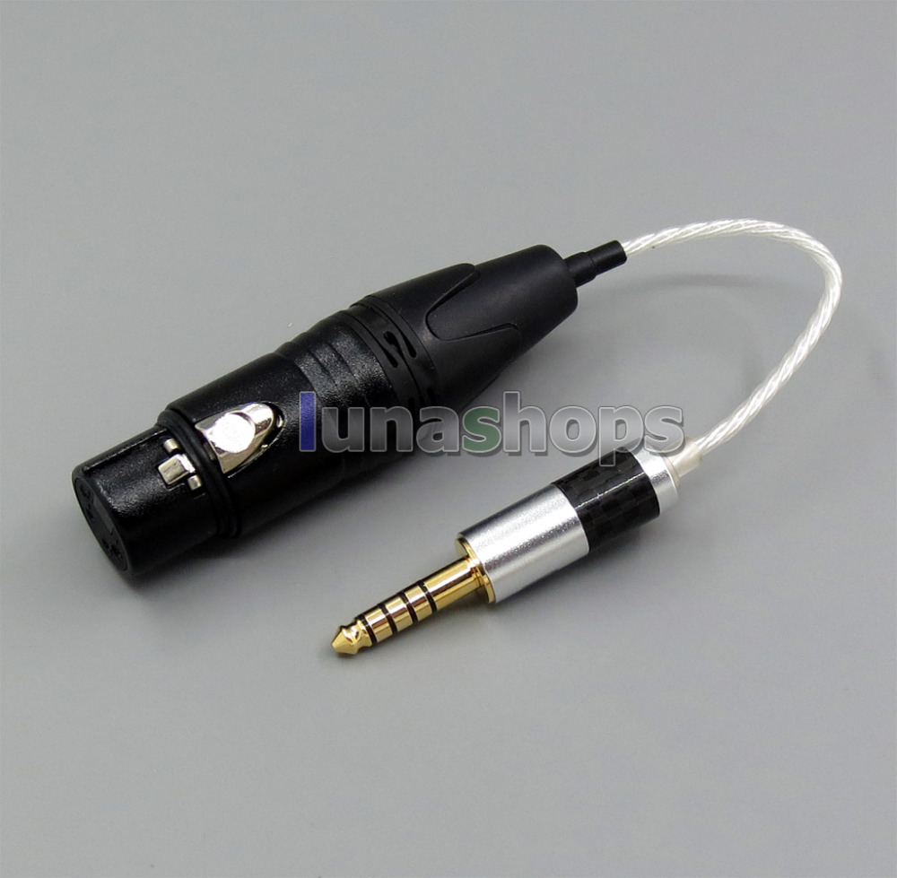 Earphone Accessories Realistic 4.4mm Balanced To 4pin Xlr Female Audio Silver Cable For Sony Pha-2a Ta-zh1es Nw-wm1z Nw-wm1a Amp Player Ln005592