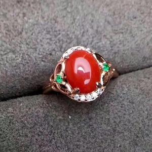 Image 3 - مجوهرات فاخرة من KJJEAXCMY من الفضة الإسترليني عيار 925 بحلقة من المرجان الأحمر للإناث ويمكن اختيار الشهادة من الفضة
