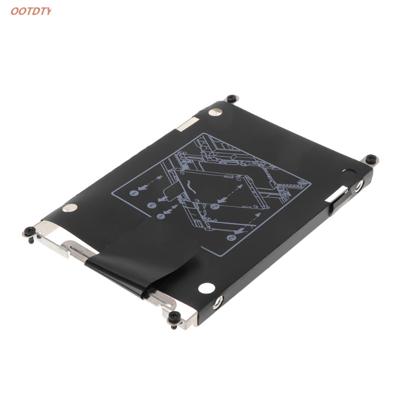 Hard Drive Disk Bracket Caddy 8 Screws Computer Accessory For HP EliteBook 2560p