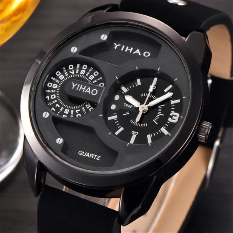 Man Watch 2018 Automatic Quartz Men Watch Leather Band Man Watches Water Resistant Relogio Masculino Marca Original erkek saat