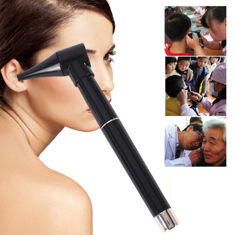 1pcs Medical Diagnostic Penlight Otoscope Ear Care Magnifying Lens Clinical Flashlight LED Light Pen Tools Ear Protect Care clinical