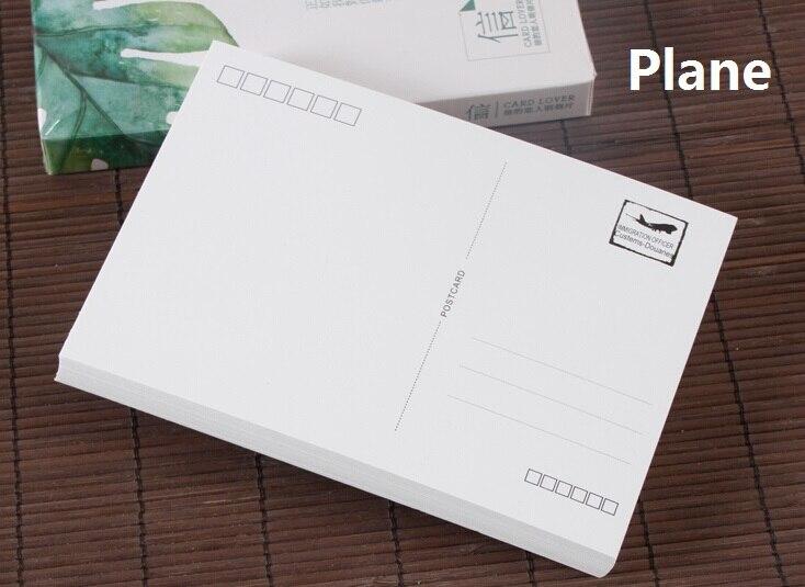 10 X Plain White Paper Cardstock Postcard Blank Postcards Matte Letter Pad 10*14cm