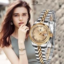 Camiseta nueva de marca, reloj de diseño PAGANI para mujer, de cuarzo, informal, resistente al agua, de lujo, femenino