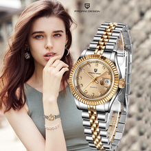 New Top Brand PAGANI DESIGN Womens Watches Fashion Casual Quartz Ladise Dress