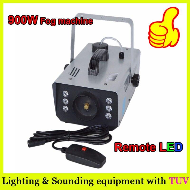 Great effect LED 900W Fog Machine / 900w Smoke Machine for wedding/party/dj/shows with DHL shipping обогреватель triangle 900w