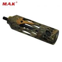 5 Color Compound Bow Stabilizer 5 Inches 7 5 Oz CNC Aluminum Bow Accessories For Archery
