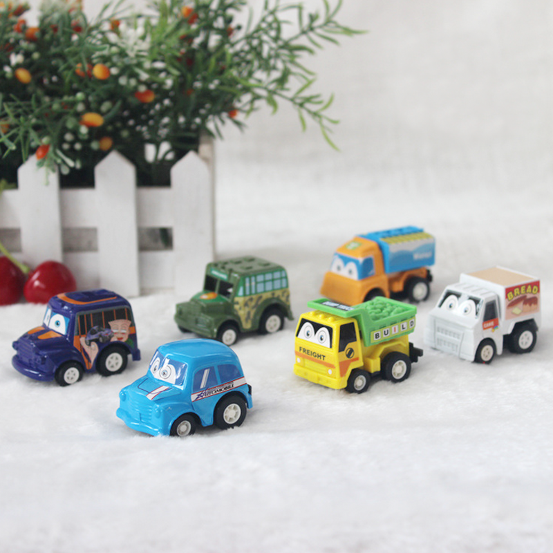 6pcslot pull back car toys car children racing car baby mini cars cartoon pull back bus truck kids toys for children boy gifts on aliexpresscom alibaba