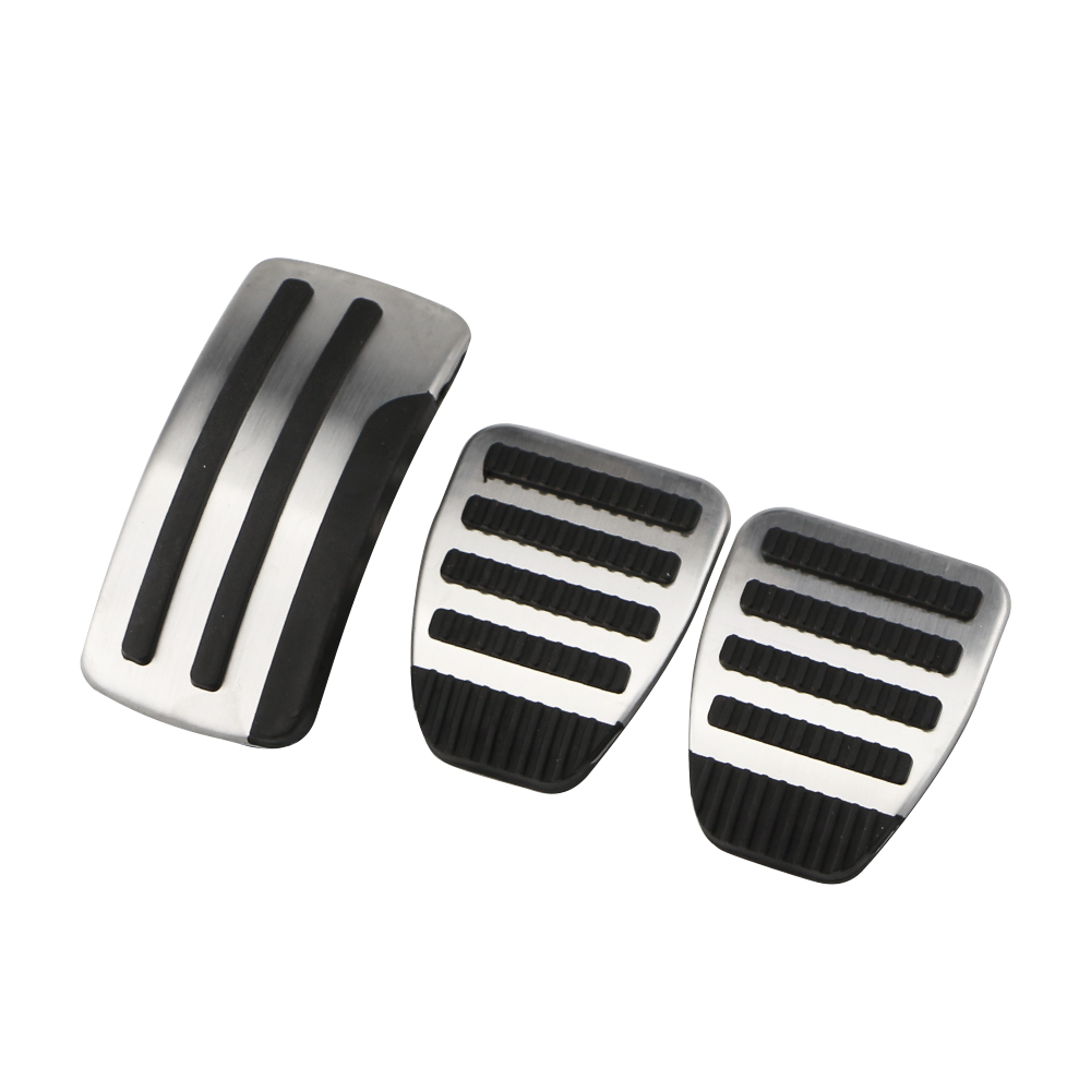 Car Pedals for Nissan X trail T31 Qashqai J10 Car Stainless Steel AT MT Pedal Cover for Nissan X trail 2010 2013 Qashqai 2012 15-in Pedals from Automobiles & Motorcycles