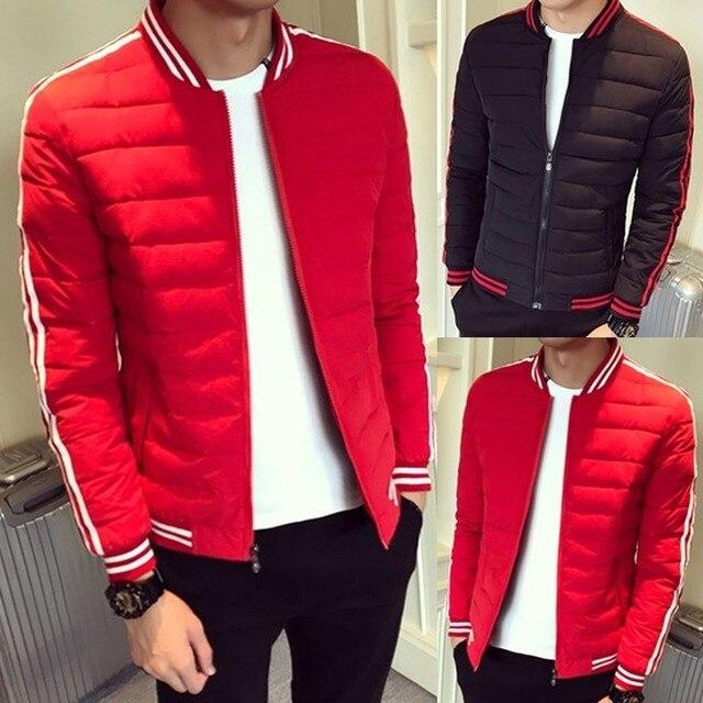 21a97707 ZOGAA Brand Winter Mens Jacket And Coats Casual Parka Men Warm Clothes  Windbreaker Men Cotton Stripe