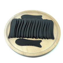 Free shipping! 20pieces/lot Wholesale Traditional Acupuncture Massage Tool fish Guasha Board /100% Ox Horn