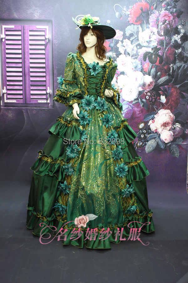 17 18th Century Dress Marie Antoinette Baroque Rococo Dress Party Ball Gown Rococo Halloween Costume