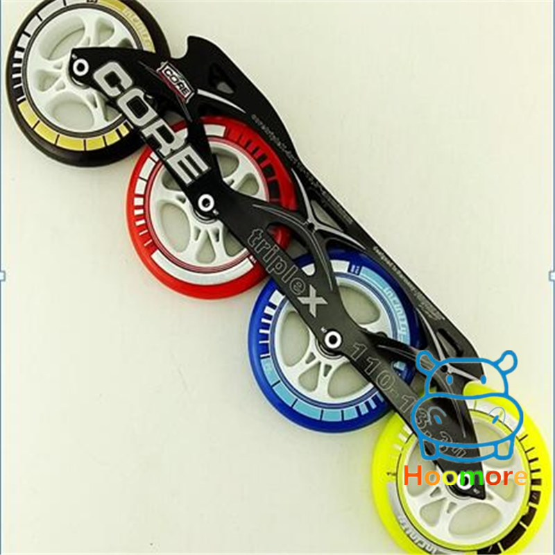 7000 Series Alloy Inline Speed Racing Skating Frame with 90mm 100mm 110mm Speed Skating Wheel 5pcs high quality compatible remote transmitter key fob for cardin s449 qz 2 qz 4