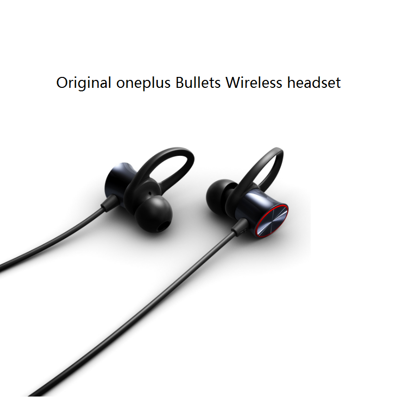 US $53 99 |Original Oneplus Bullets Wireless Earphones Free Your Music  Magnetic Mic Control Fast Charge Support aptXTM-in Bluetooth Earphones &