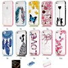 100pcs Lot Butterfly Back Tpu Hard PC Frame Cover Calling Flash Up Light Incoming Call LED