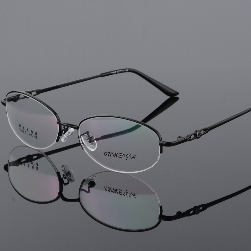 BCLEAR Women Fashion Optical Spectacles Eyeglasses Quality Glasses Optical Frame Retro Cat Eye oculos de grau feminino armacao in Women 39 s Eyewear Frames from Apparel Accessories