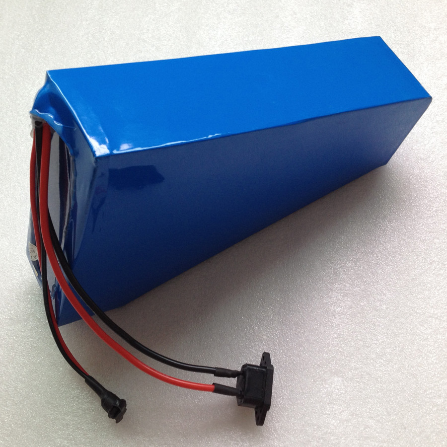 Popular style electric bike triangle battery pack 36v 24ah lithium ion battery with charger 30A BMS
