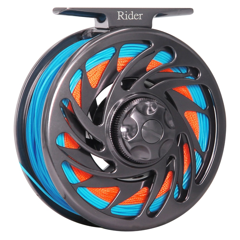 3/4 5/6 7/8 9/10 WT Fly Reel Combo Large Arbor Aluminum Fly Fishing Reel With Floating Fly Fishing Line Backing Tippet Leader angler dream 3 5wt fly fishing combo 24sk carbon fiber fly rod and 3 4 5 6wt fly reel floating fishing line backing leader