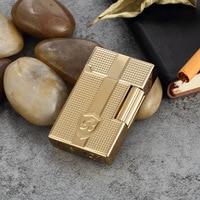 High-grade bright sound lighters, men's high-end gift lighters, metal lighters. Business gifts,Cigarette Accessories