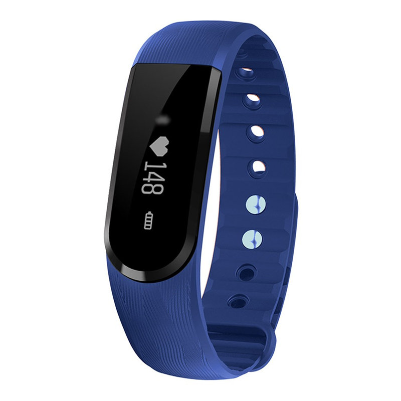 ID101 Bluetooth Smart Bracelet OLED Smart Band Heart Rate Monitor Fitness Tracker Music Control Smart Wristband